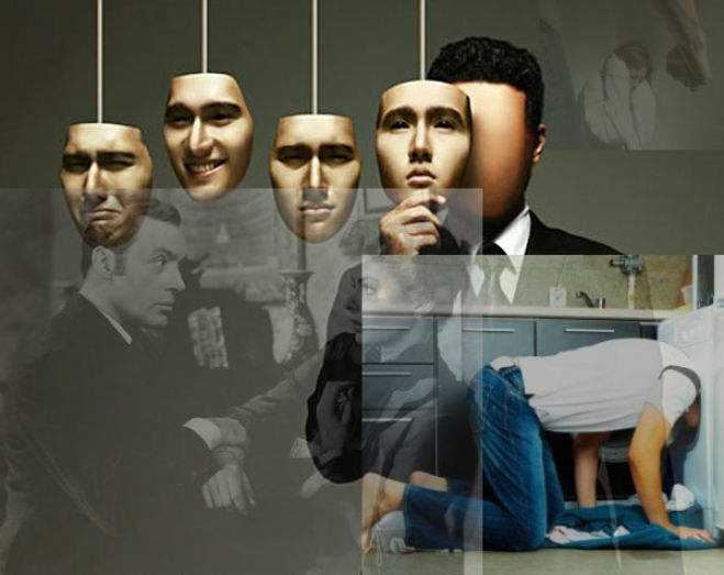 Gaslighting e femminicidio - collage