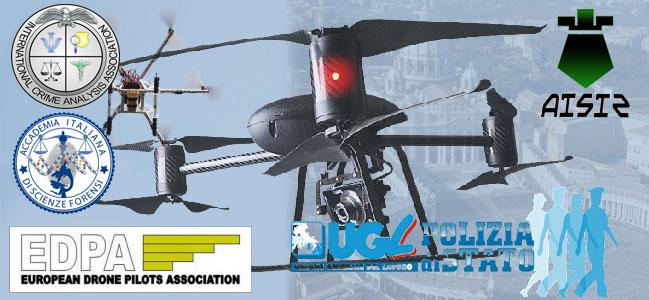 Droni per attività invetigativa