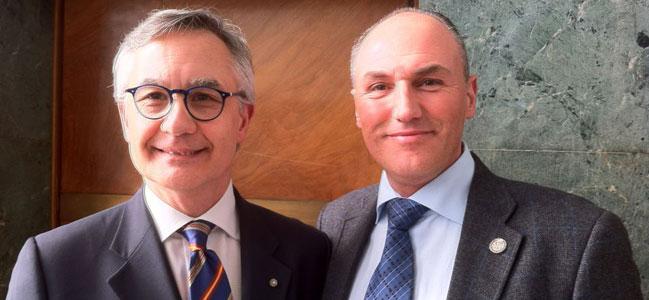 Luciano Garofano e Francesco Caccetta
