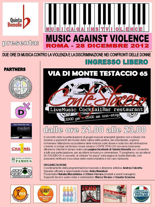 Music against violence