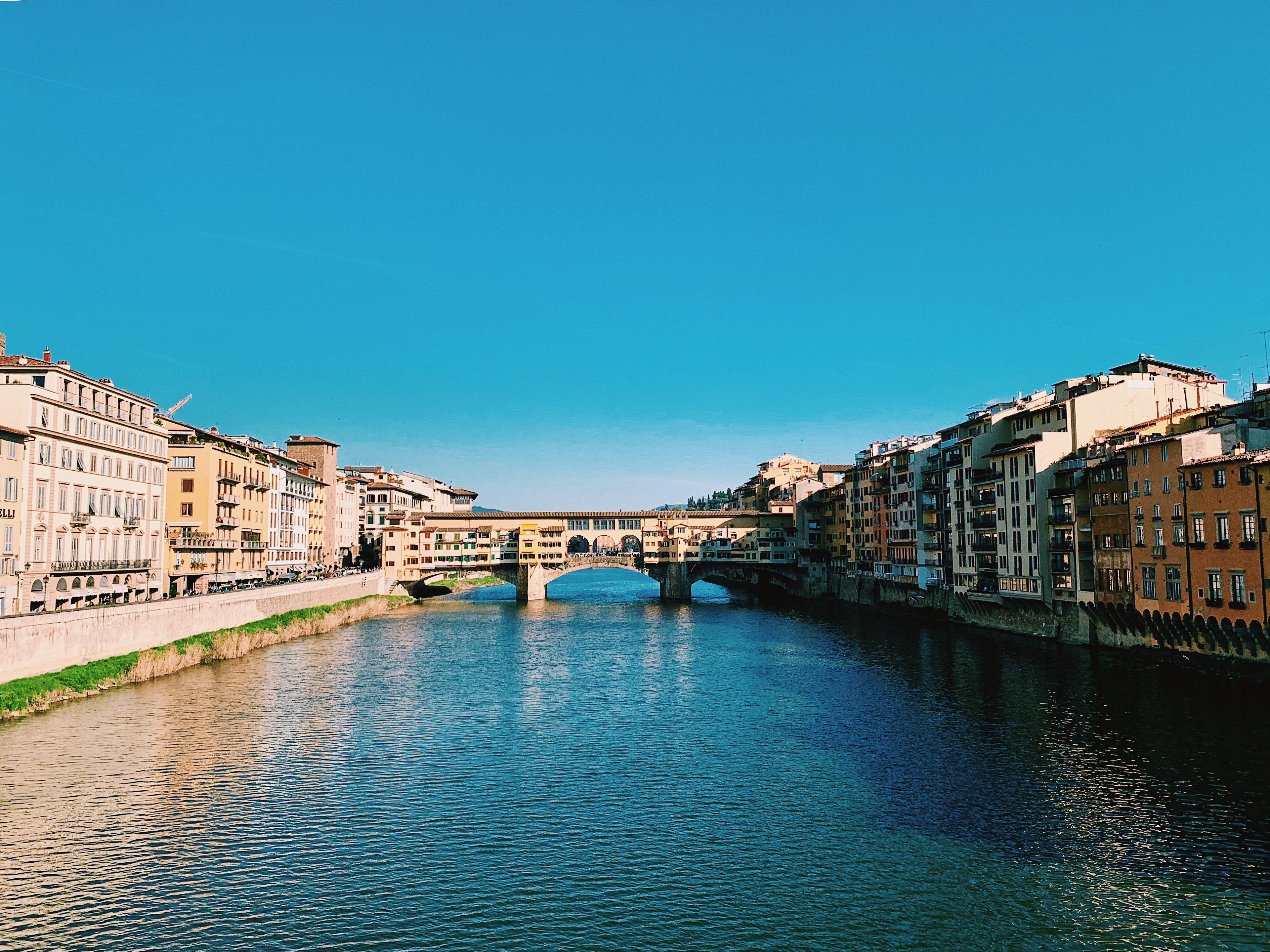 Vista diurna di Ponte Vecchio